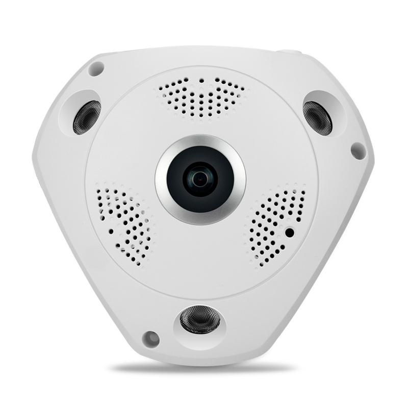 360度全景摄像头无线wifi智能网络监控摄像头一体机